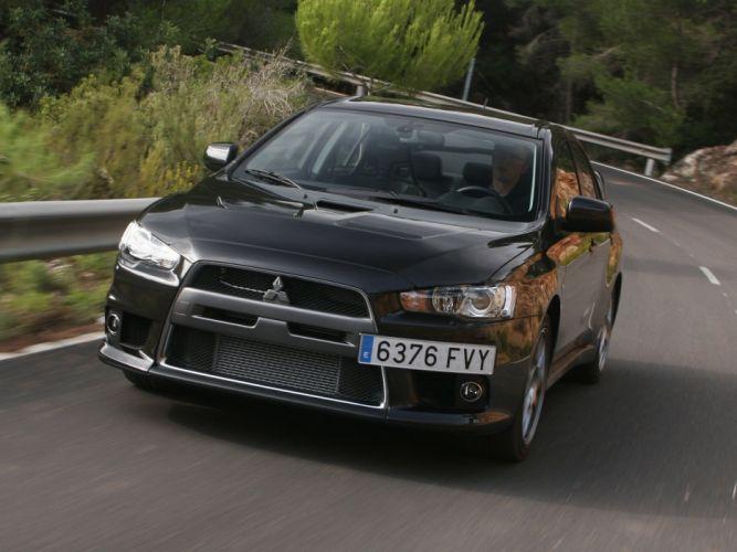 Mitsubishi Lancer evo-X EU-spec cars 2008 wallpaper