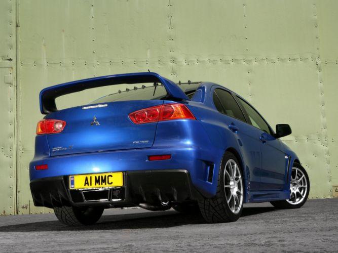 Mitsubishi Lancer evo-X cars 2009 wallpaper