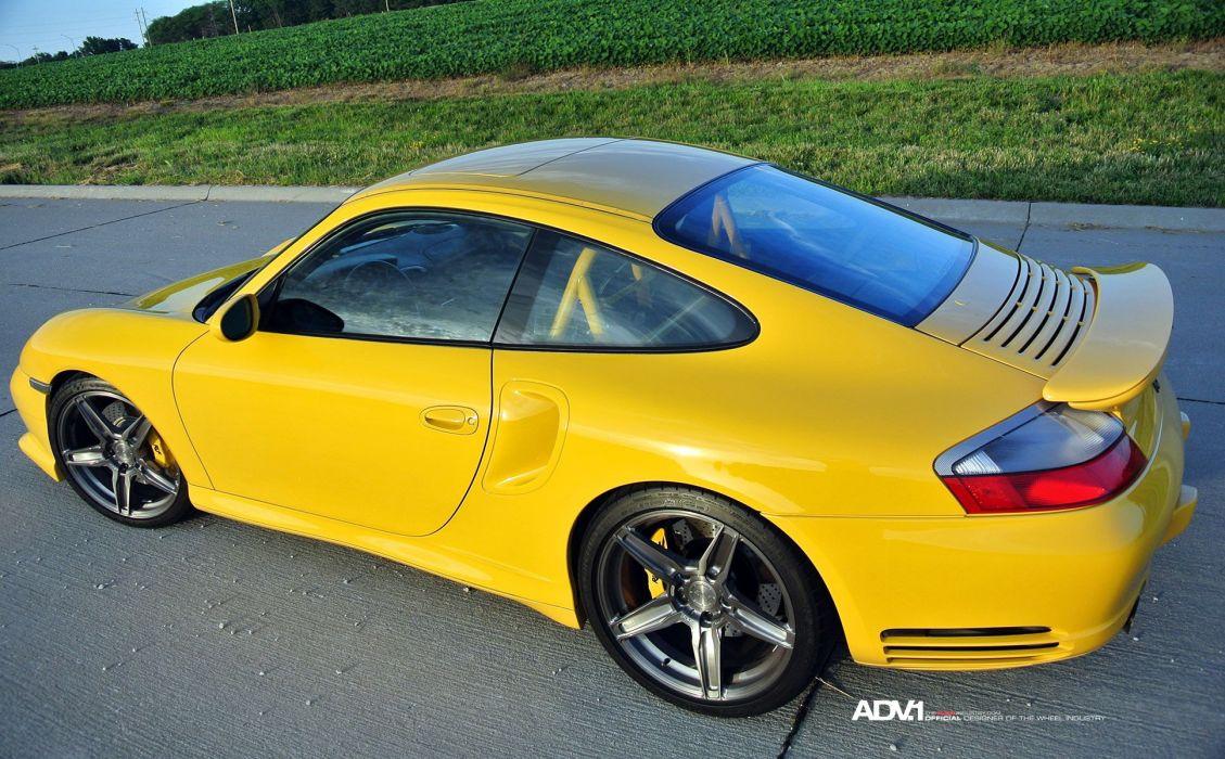 ADV1 WHEELS GALLERY PORSCHE 996 TURBO ruf cars coupe modified wallpaper