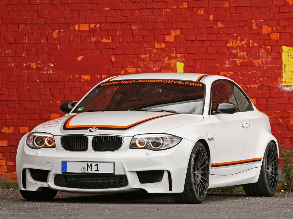 APP Europe BMW 1 Series M-Coupe (E82) cars modified 2012 wallpaper