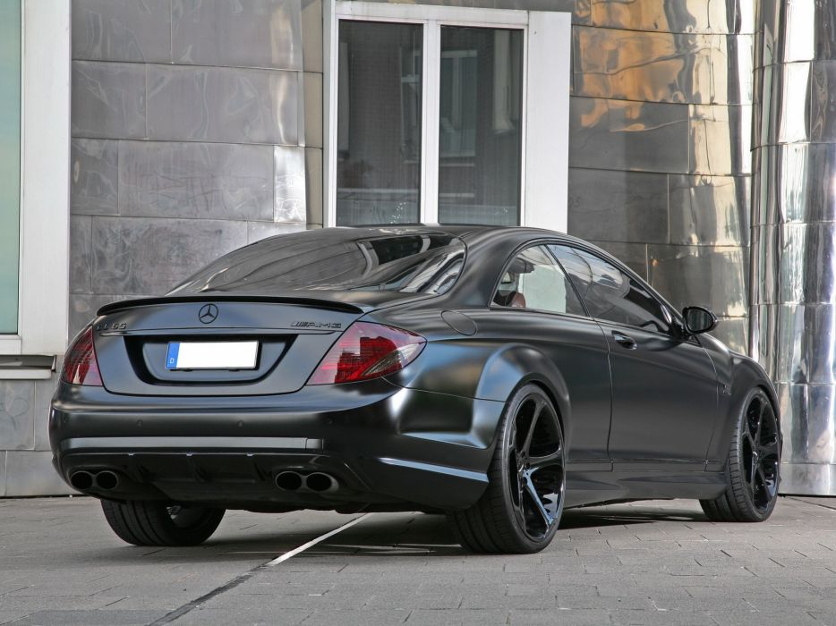 nderson Germany Mercedes-Benz CL-65 AMG Black Edition (C216) cars modified 2010 wallpaper