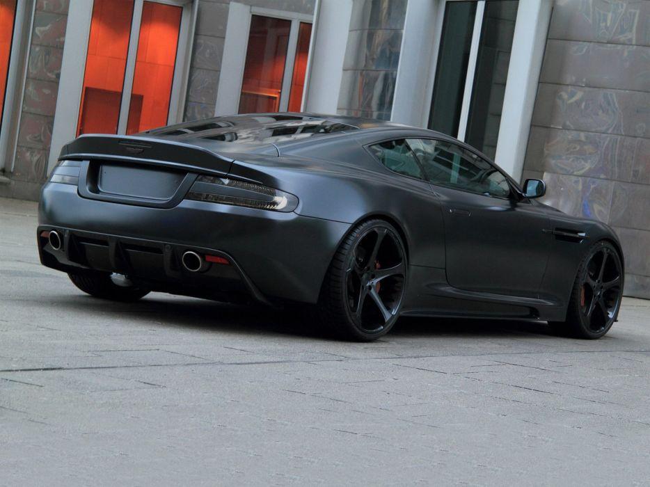nderson Germany Aston Martin DBS Superior Black Edition cars modified 2011 wallpaper