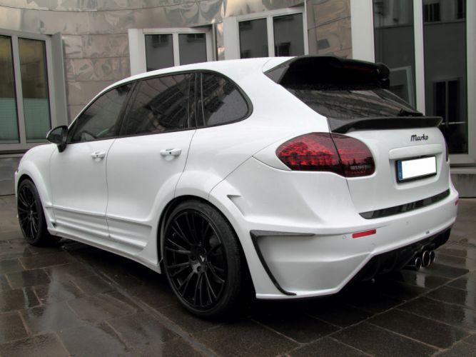nderson Germany Porsche Cayenne White Dream Edition cars modified 2013 wallpaper