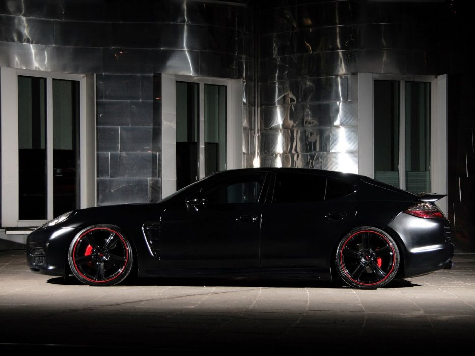 Nderson Germany Porsche Panamera Black Edition Cars Modified 2013 Wallpaper