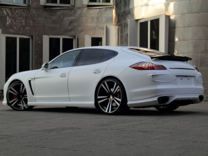 nderson Germany Porsche Panamera GTS White Storm modified 2012 wallpaper