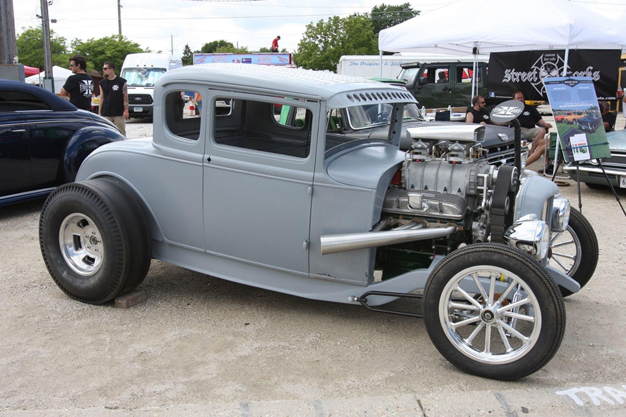 1930 ford model a coupe five window hot rod hotrod drag. Black Bedroom Furniture Sets. Home Design Ideas