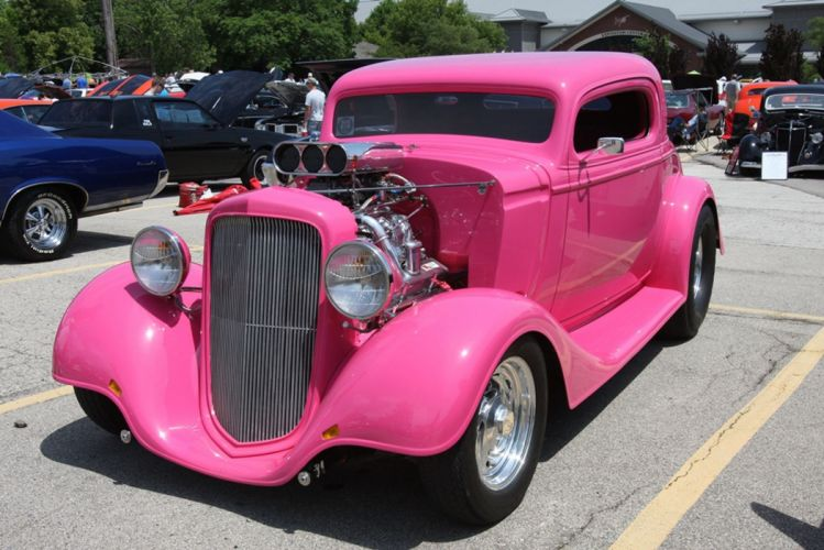 1934 Chevrolet Chevy Coupe Hotrod Hot Rod USA -01 wallpaper