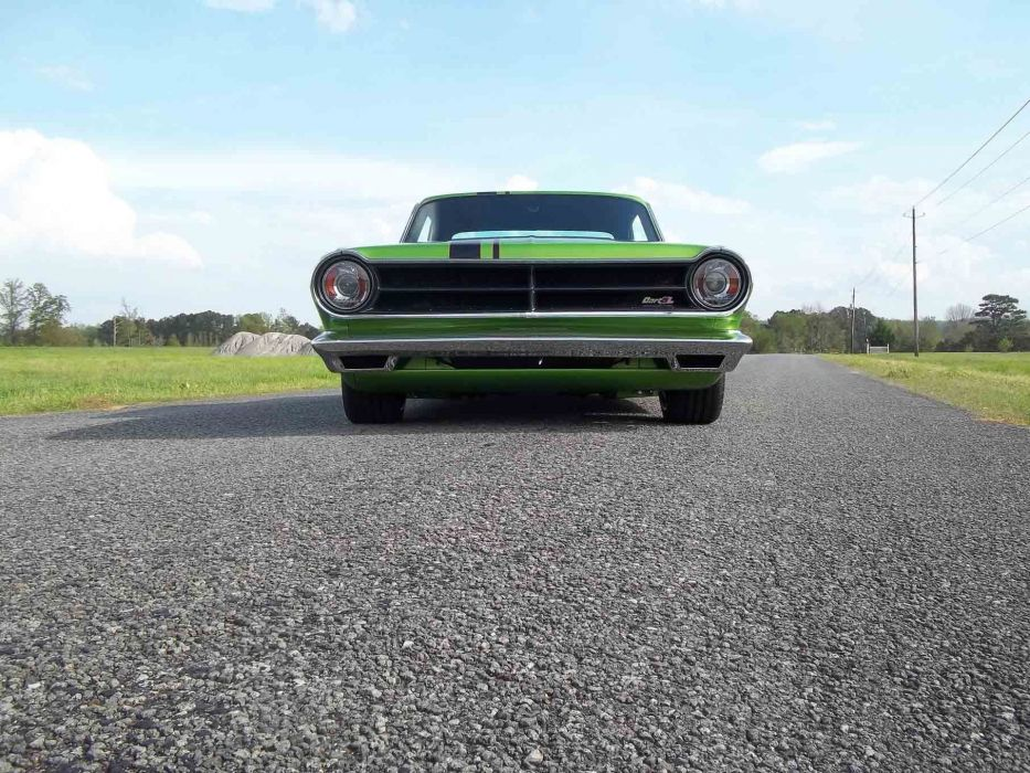 1965 Dodge Dart Coupe Hardtop Street Machine Pro Touring Green USA -03 wallpaper
