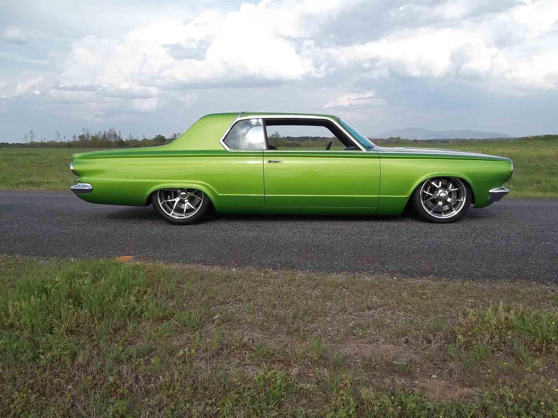 1965 dodge dart coupe hardtop street machine pro touring green usa 07 wallpaper 1813x1360 761598 wallpaperup