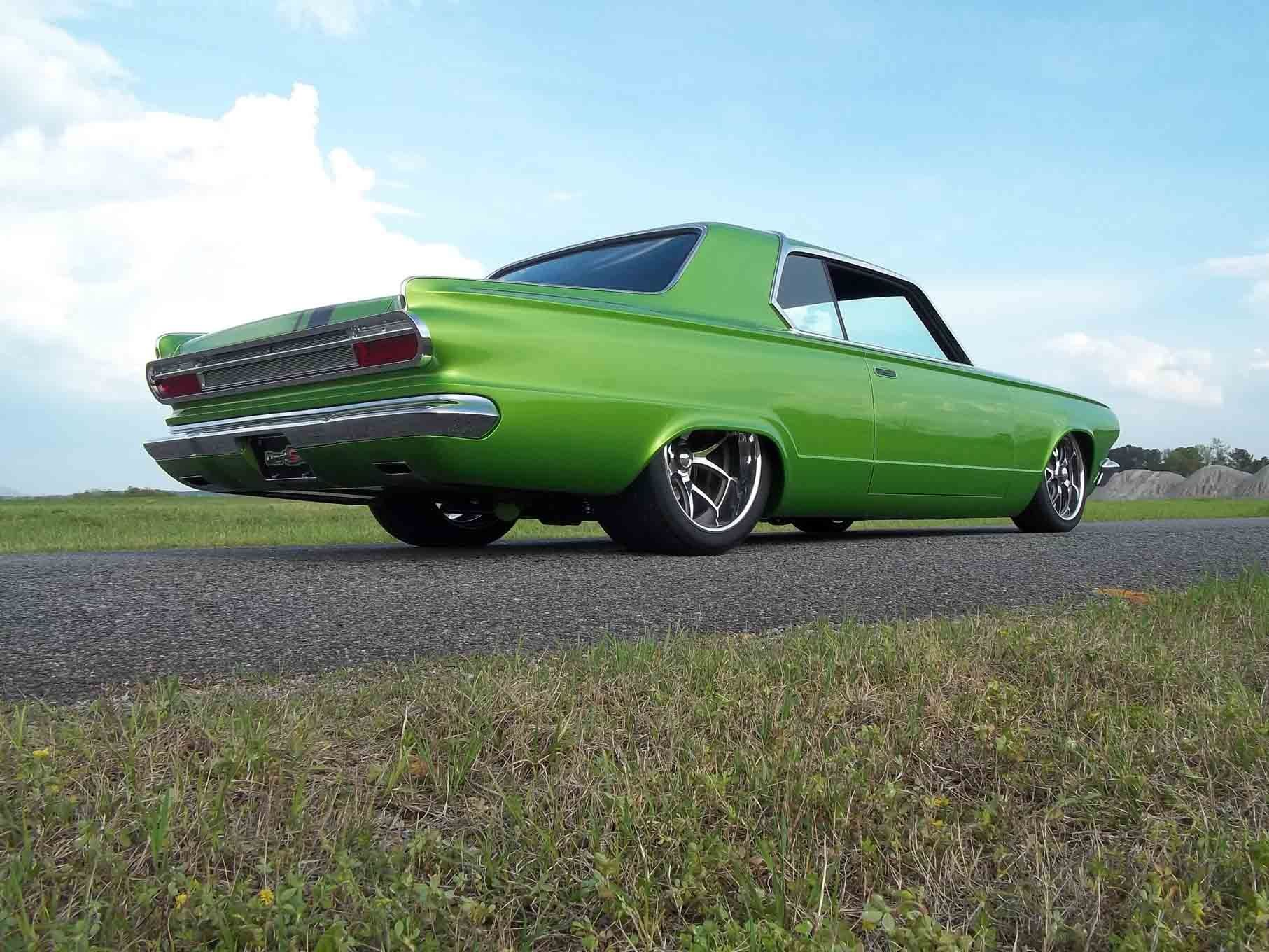 1965 dodge dart coupe hardtop street machine pro touring green usa 11 wallpaper 1813x1360 761600 wallpaperup
