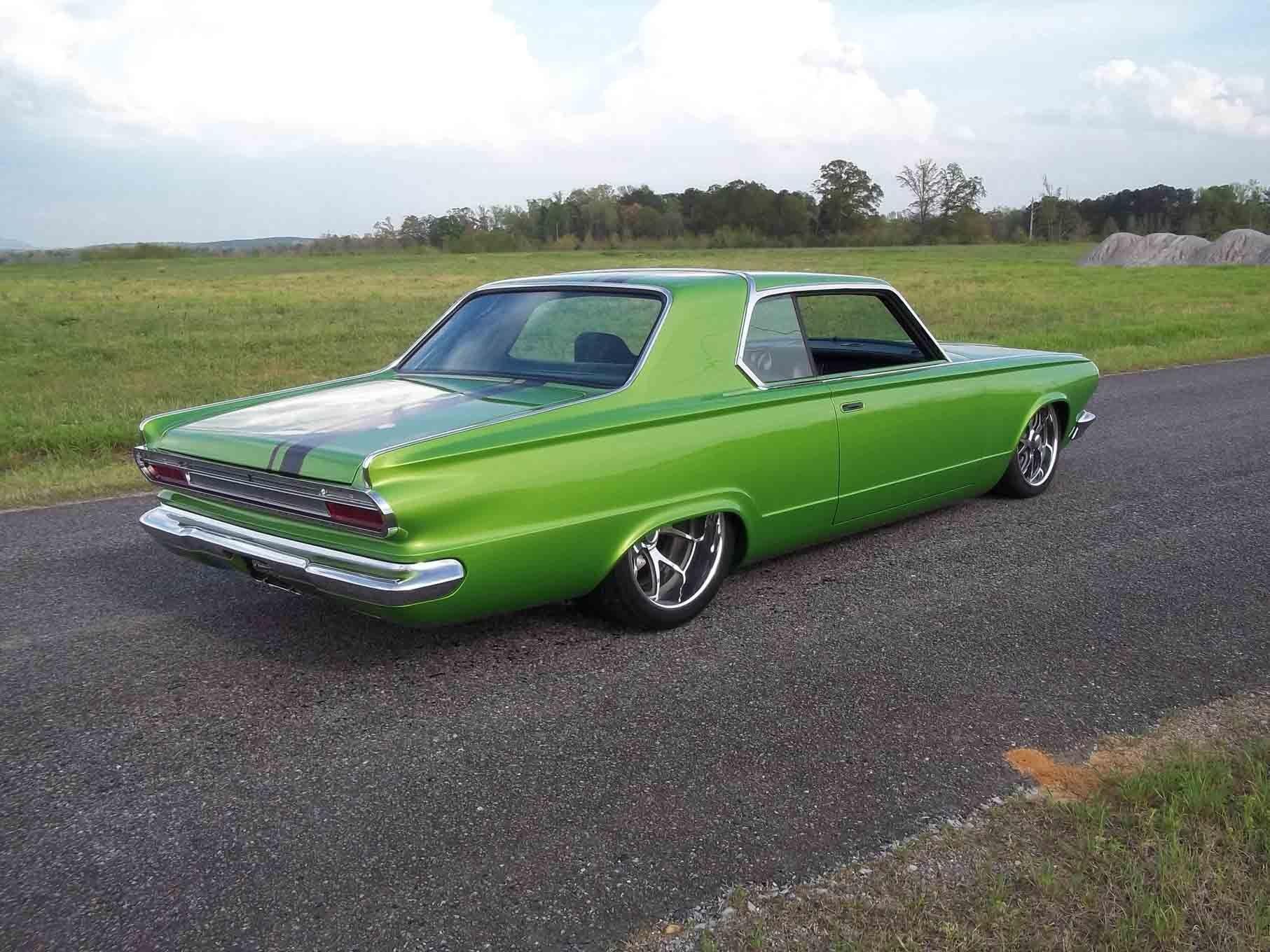 1965 dodge dart coupe hardtop street machine pro touring green usa 12 wallpaper 1813x1360 761603 wallpaperup