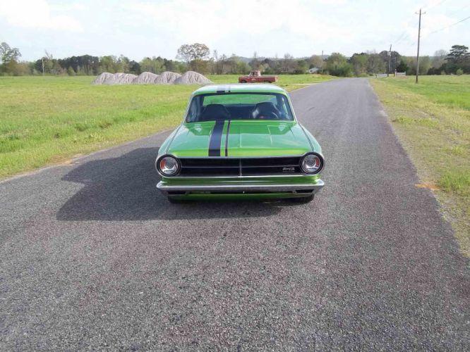 1965 Dodge Dart Coupe Hardtop Street Machine Pro Touring Green USA -16 wallpaper