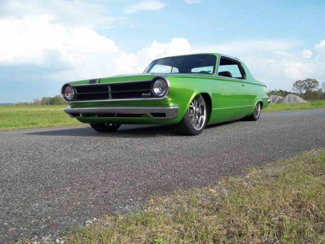 1965 Dodge Dart Coupe Hardtop Street Machine Pro Touring Green USA -14 wallpaper