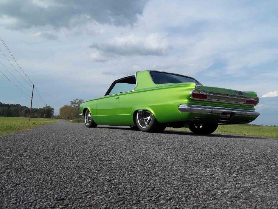 1965 Dodge Dart Coupe Hardtop Street Machine Pro Touring Green USA -15 wallpaper