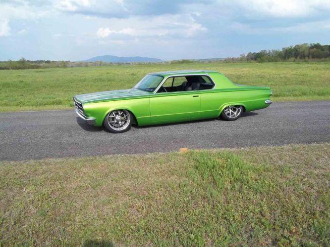 1965 Dodge Dart Coupe Hardtop Street Machine Pro Touring Green USA -18 wallpaper