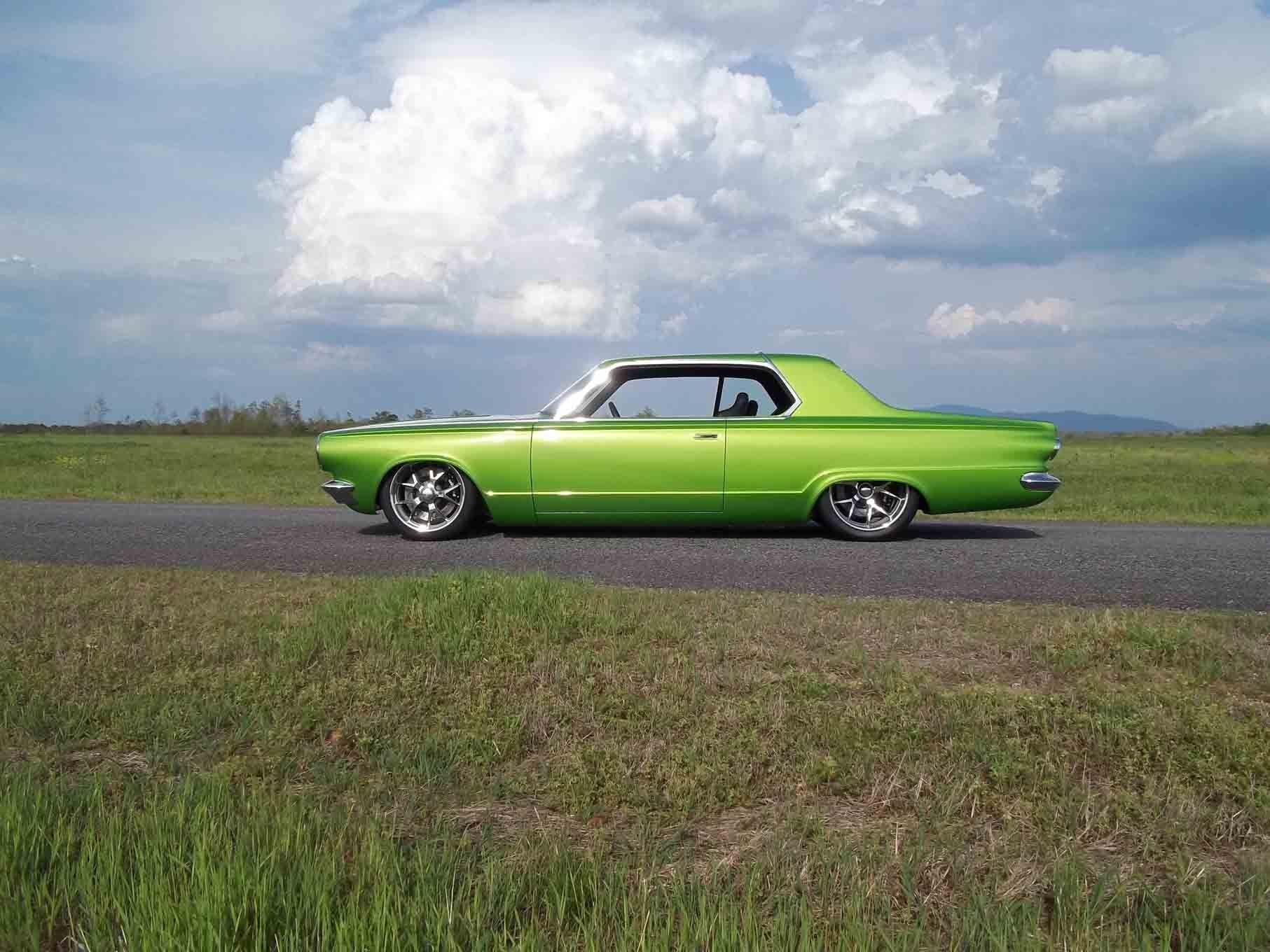 1965 dodge dart coupe hardtop street machine pro touring green usa 20 wallpaper 1813x1360 761610 wallpaperup