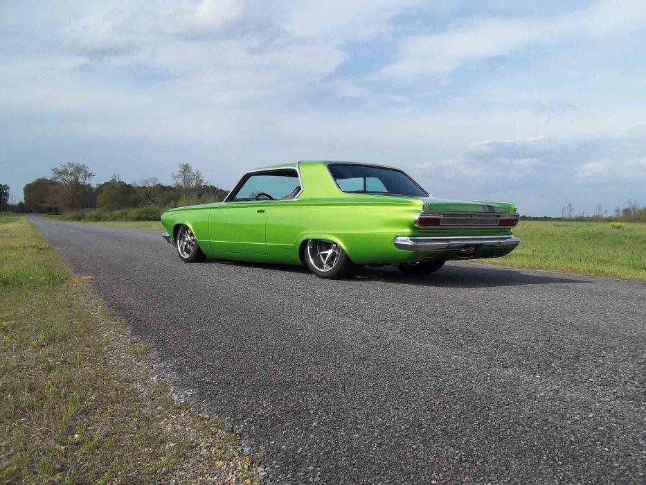 1965 Dodge Dart Coupe Hardtop Street Machine Pro Touring Green USA -25 wallpaper
