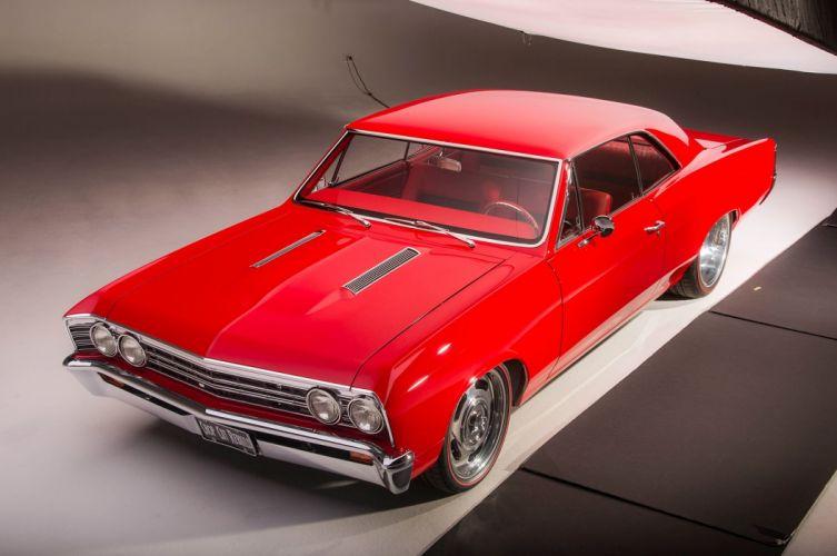 1967 Chevrolet Chevelle SS Super Sport Coupe Hardtop Muscle Street Rod Cruiser Hot USA -21 wallpaper