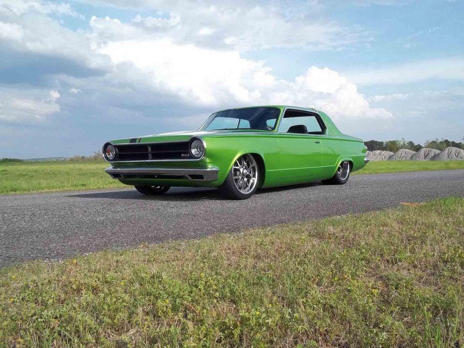 1965 Dodge Dart Coupe Hardtop Street Machine Pro Touring Green USA -26 wallpaper
