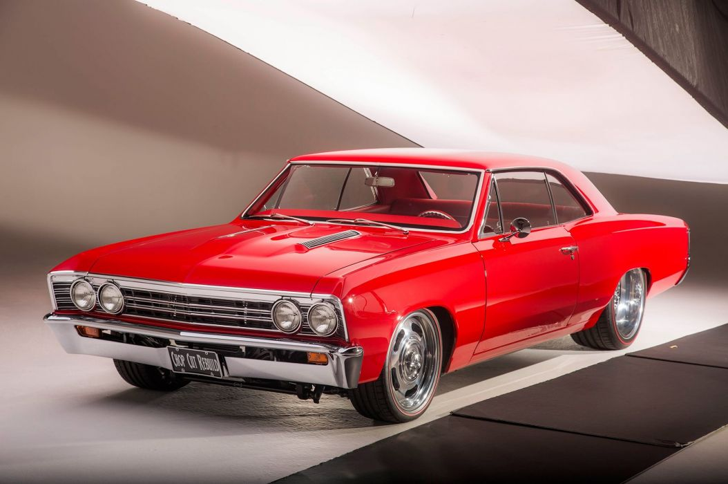 1967 Chevrolet Chevelle SS Super Sport Coupe Hardtop Muscle Street Rod Cruiser Hot USA -22 wallpaper