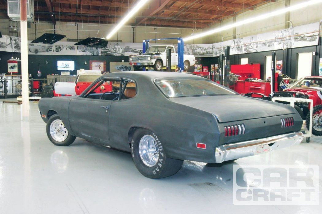 1974 Dodge Demon Pro Street Drag Black Usa -01 wallpaper