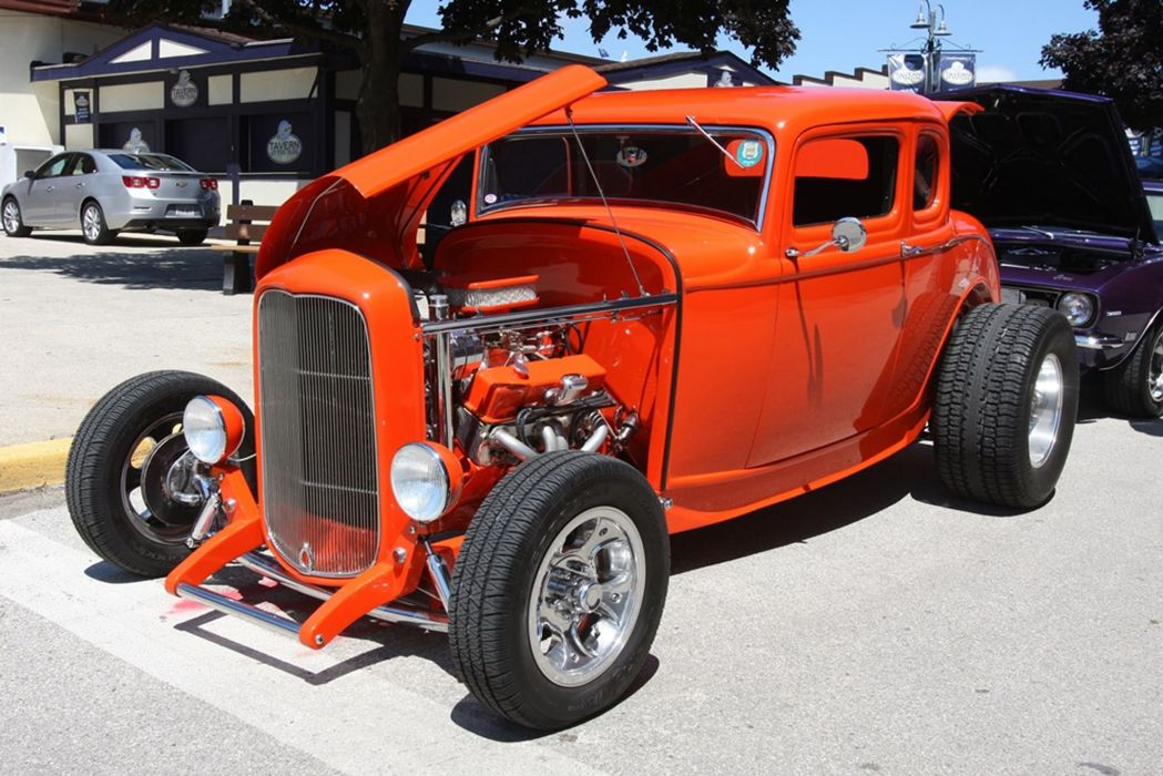 1923 Ford Coupe Five Window Hotrod Hot Rod USA -01 wallpaper