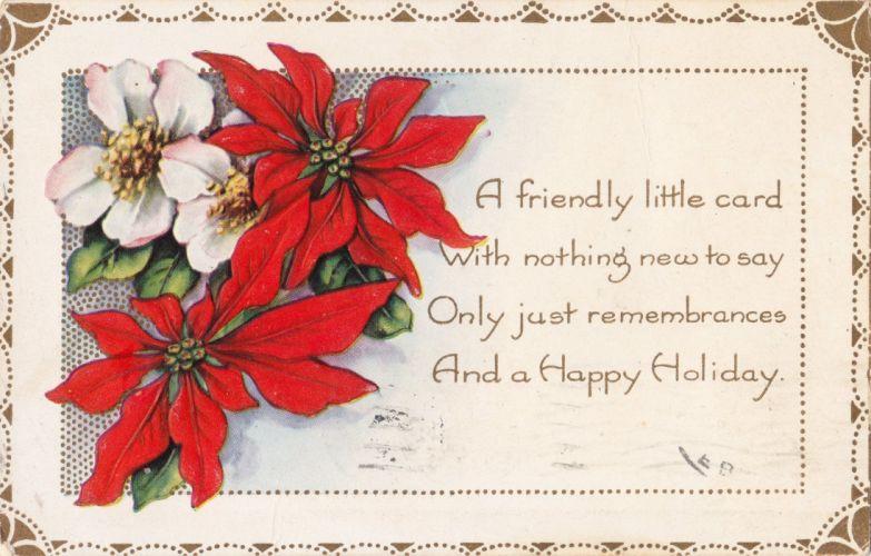 POSTCARD paper poster advertising vintage retro antique christmas j wallpaper