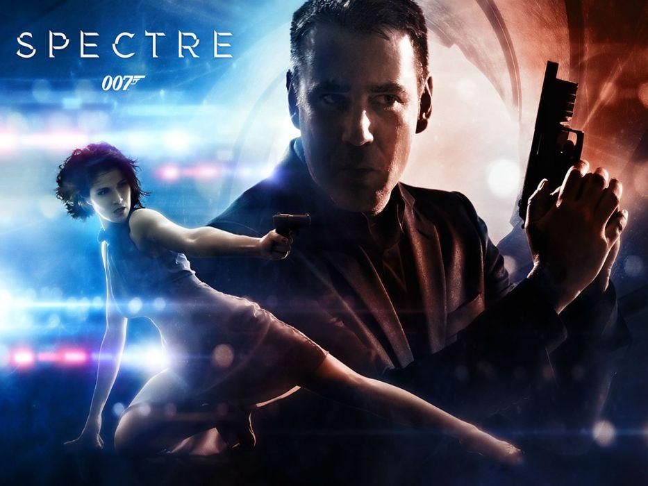 SPECTRE 007 BOND 24 james action spy crime thriller 1spectre mystery poster wallpaper