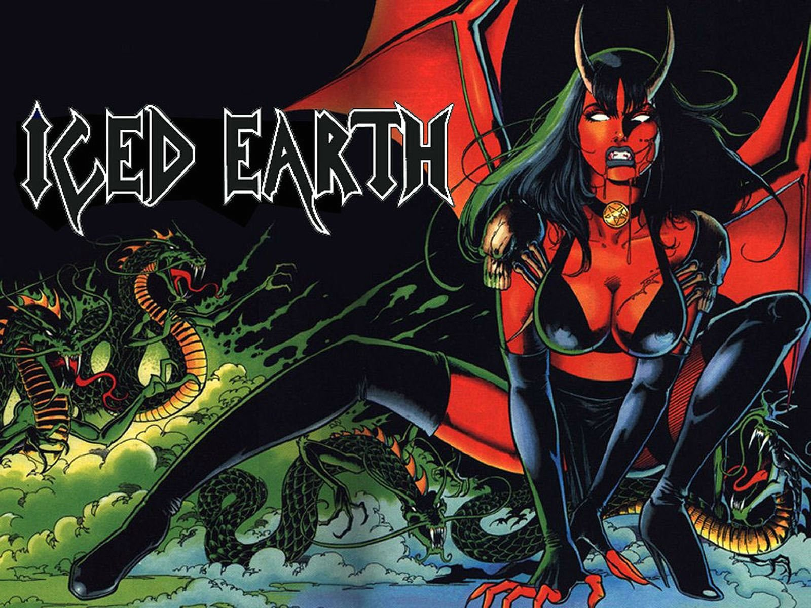 iced earth iphone 5 wallpaper download