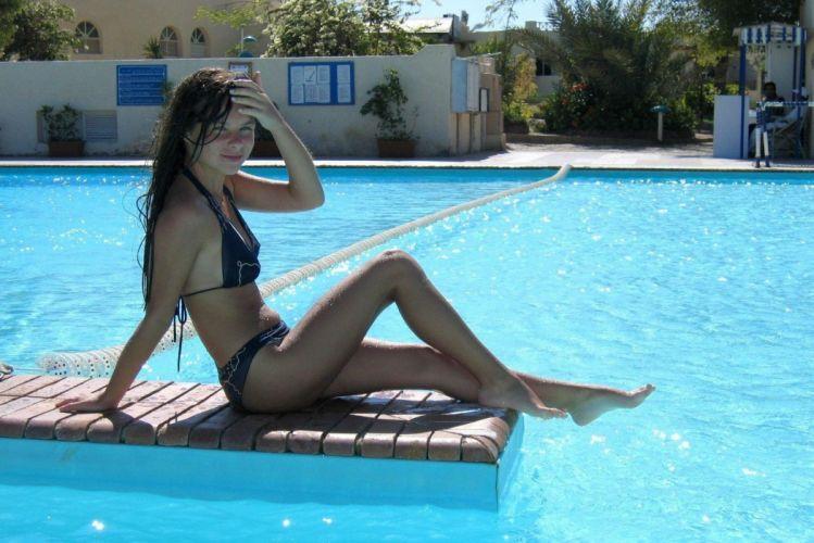 bikini female women woman girl girls sexy babe swimwear f wallpaper