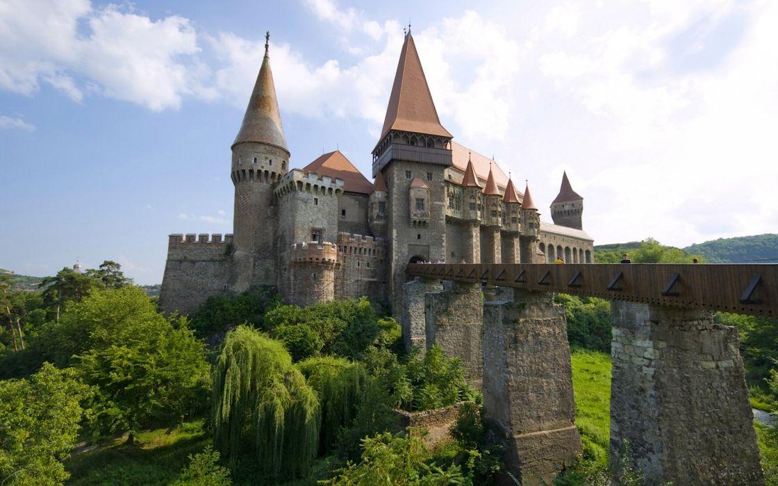 castillo corvin rumania wallpaper