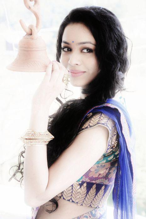 Vaishnavi Dhanraj at her engagement wallpaper