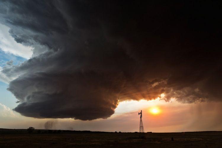 tormenta tornado nubes naturaleza wallpaper