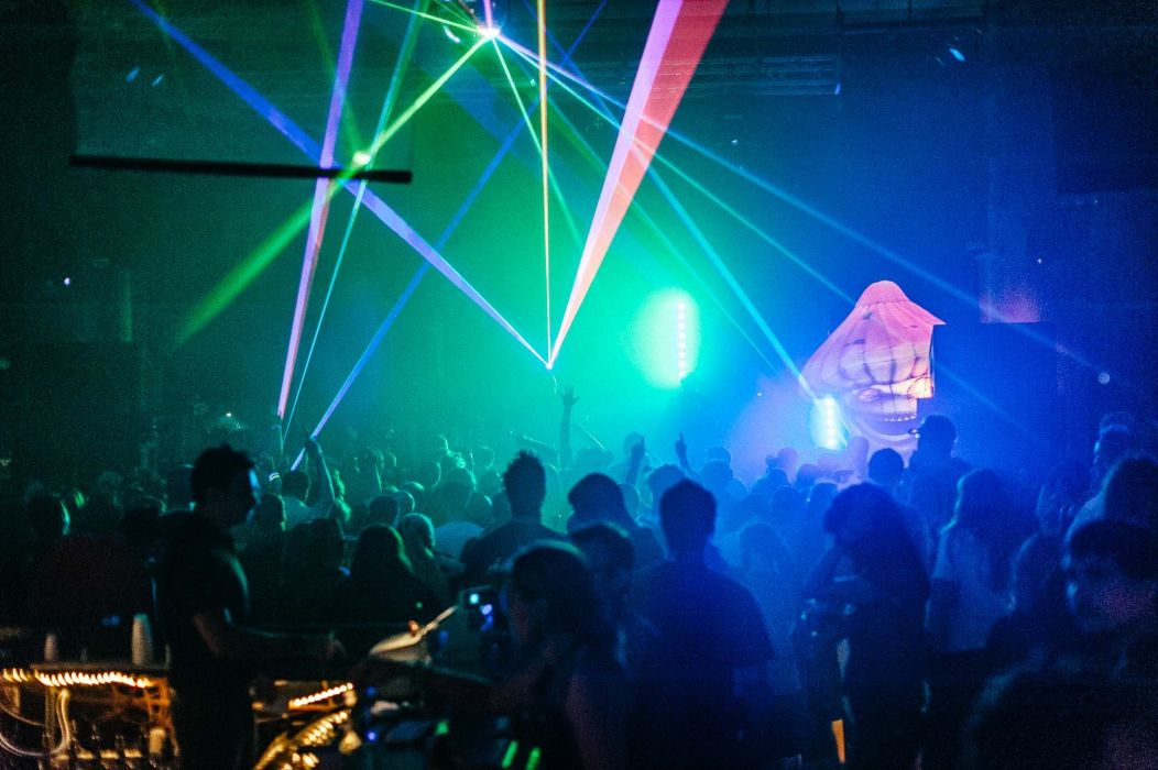 INFECTED MUSHROOM psychedelic trance electro house electronica electronic rock industrial disc jockey 1imush concert crowd laser wallpaper
