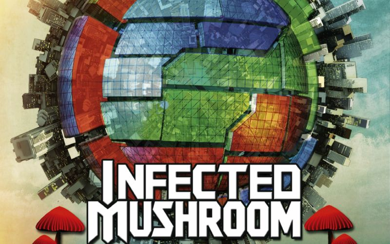 INFECTED MUSHROOM psychedelic trance electro house electronica electronic rock industrial disc jockey 1imush poster wallpaper