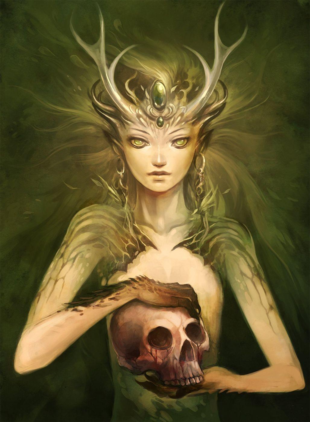 Картинки страшных эльфов