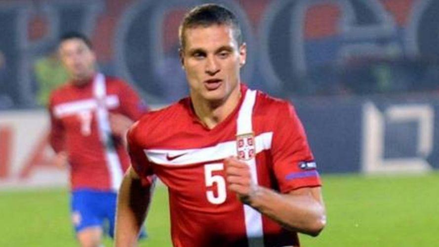 vidic futbolista serbia wallpaper