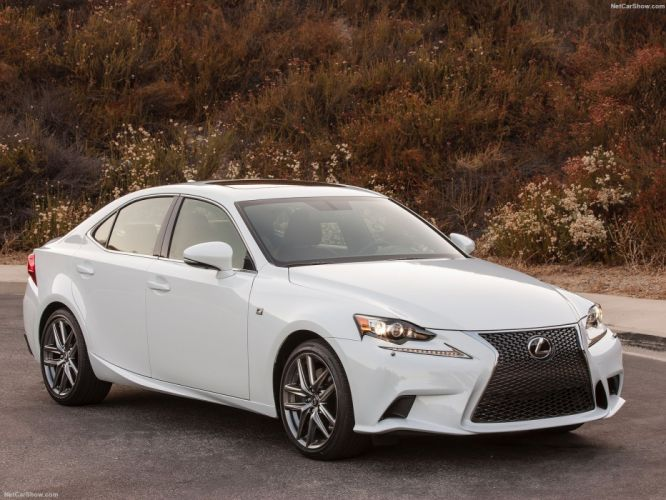 Lexus-IS F-Sport 300 US-Version cars sedan 2016 wallpaper