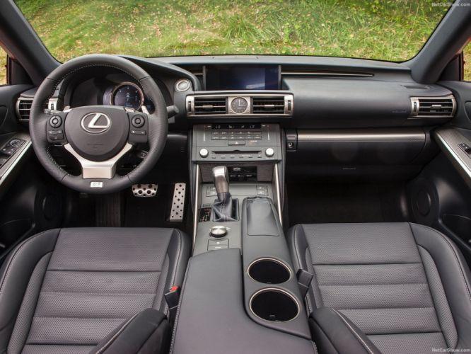 Lexus-IS F-Sport 300 US-Version cars sedan 2016 wallpaper