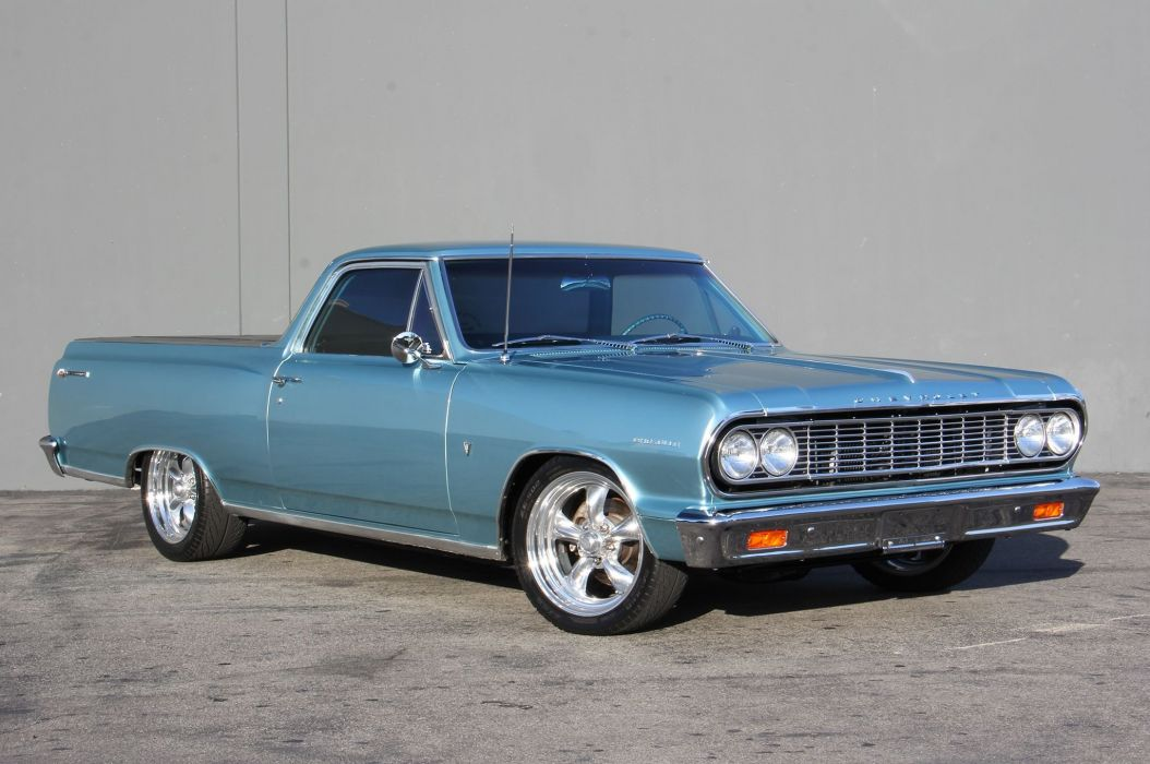 1964 Chevrolet Chevy El Camino Elcamino Street Machine Cruiser USA -01 wallpaper