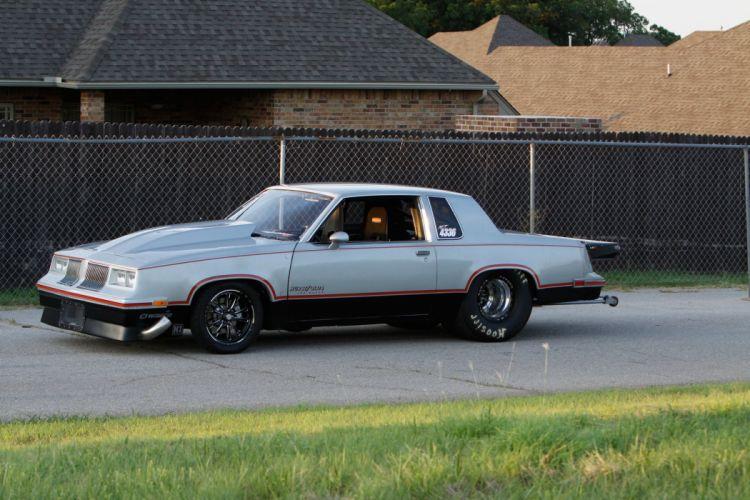 1982 Oldsmobile Cutlass Pro Stock Drag Race Pro Street USA -04 wallpaper