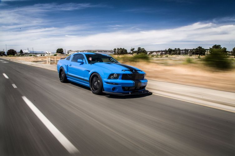 2005 Ford Mustang Shelby GT Super Street Pro Touring Supercar USA -02 wallpaper