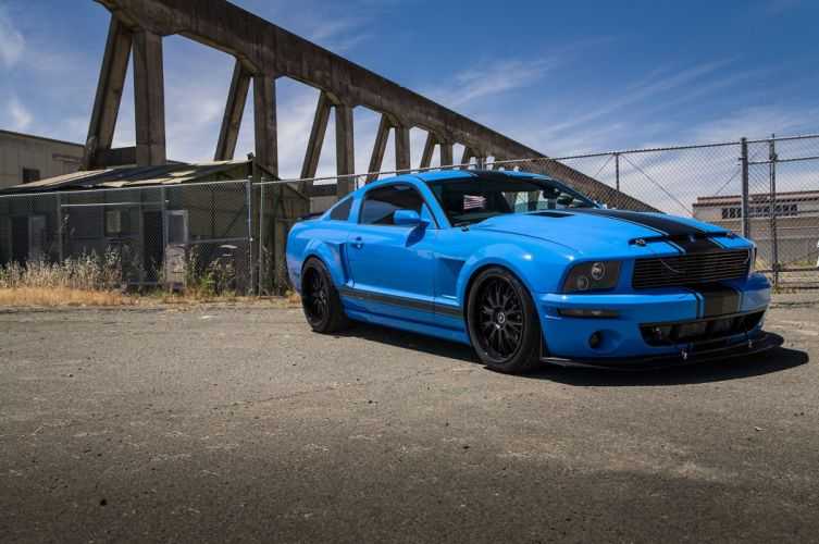 2005 Ford Mustang Shelby GT Super Street Pro Touring Supercar USA -03 wallpaper
