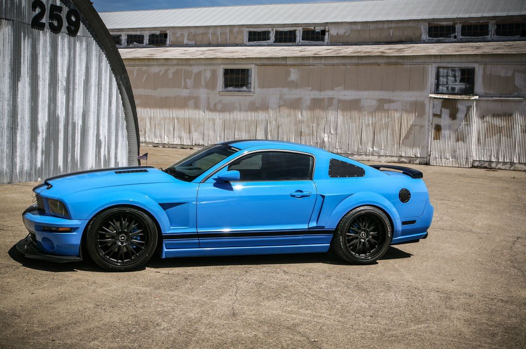2005 Ford Mustang Shelby GT Super Street Pro Touring Supercar USA -08 wallpaper