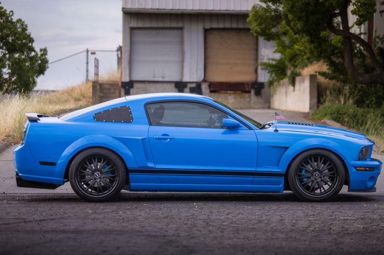 2005 Ford Mustang Shelby GT Super Street Pro Touring Supercar USA -17 wallpaper