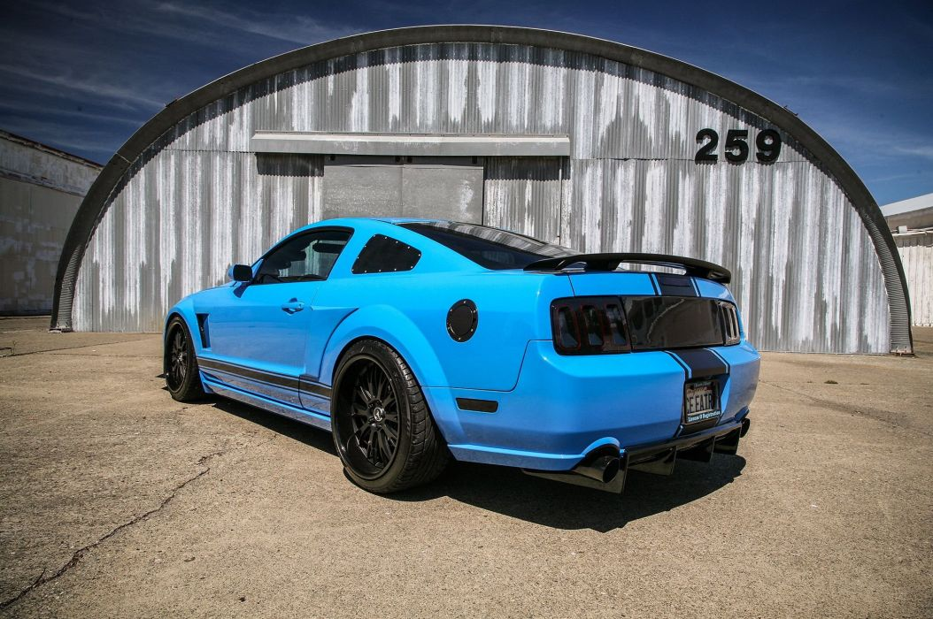 2005 Ford Mustang Shelby GT Super Street Pro Touring Supercar USA -23 wallpaper