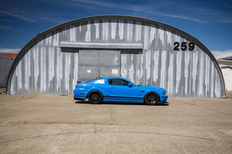 2005 Ford Mustang Shelby GT Super Street Pro Touring Supercar USA -25 wallpaper