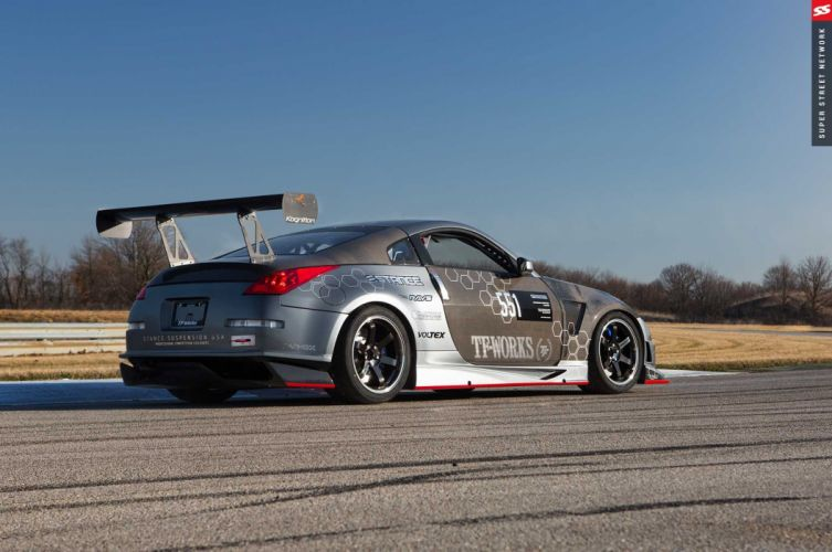 Nissan 350Z cars coupe modified wallpaper