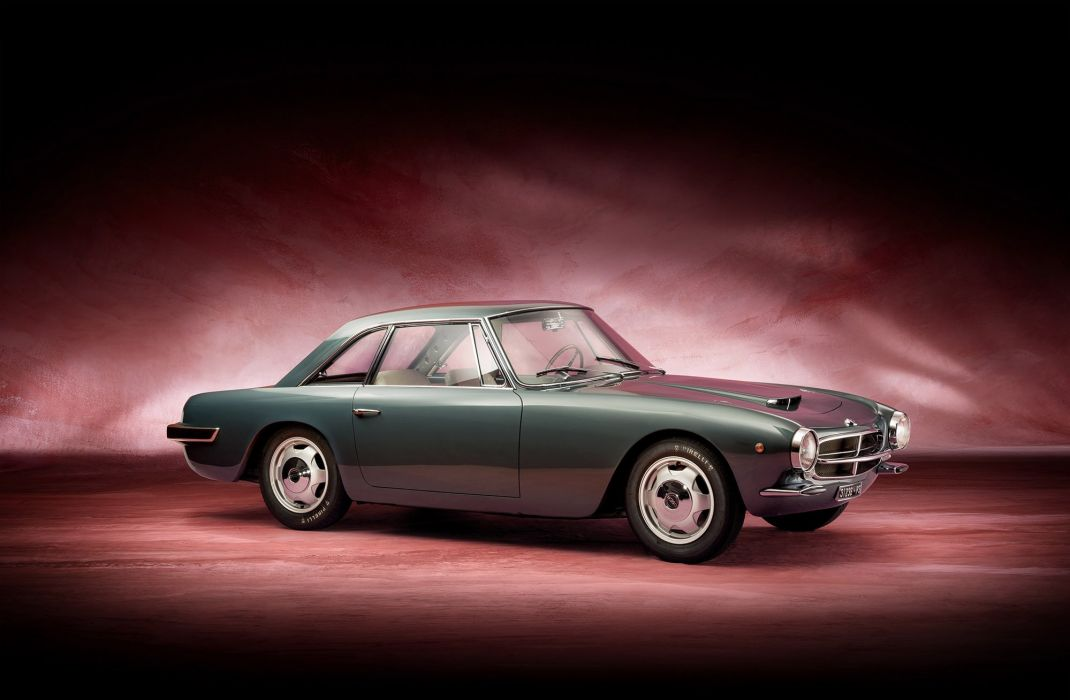 O S C A 160- GT cars coupe 1961 wallpaper