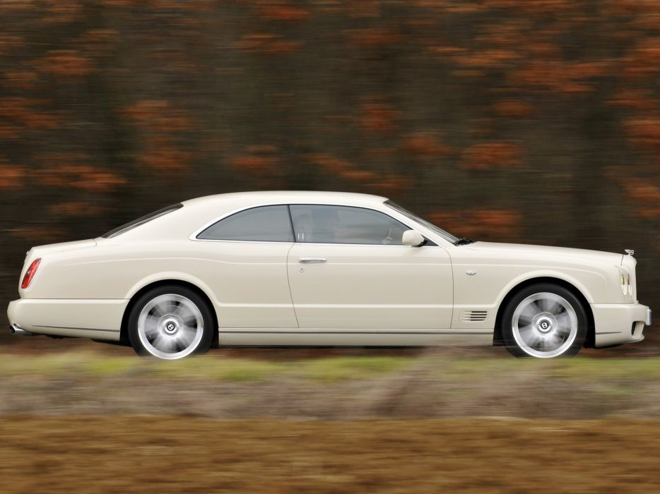 Bentley Brooklands cars coupe 2007 wallpaper